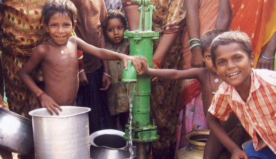 Dig a well for a village in India