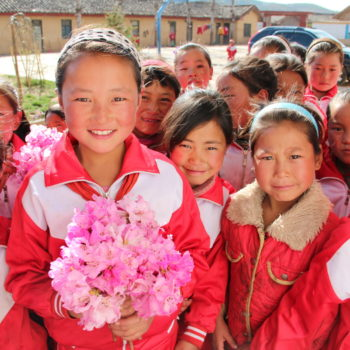 China Sponsorship. All girls class. Changing their futures.